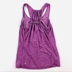 Lululemon athletica purple training tank top